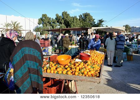 Market In Tunisia