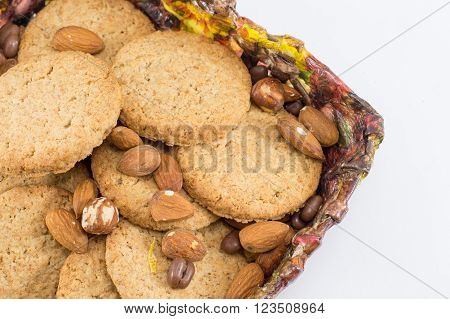 Integral Cookies With Almonds