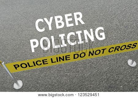 Cyber Policing Concept
