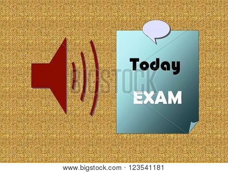 Today exam
