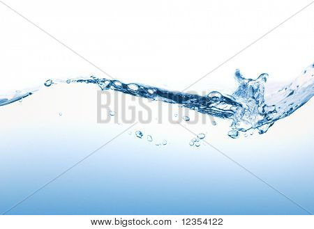 Water splashing