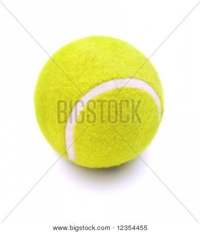 Tennisball, isolated on white background
