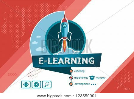 Online E-learning Concepts For Business Analysis, Planning, Consulting, Team Work