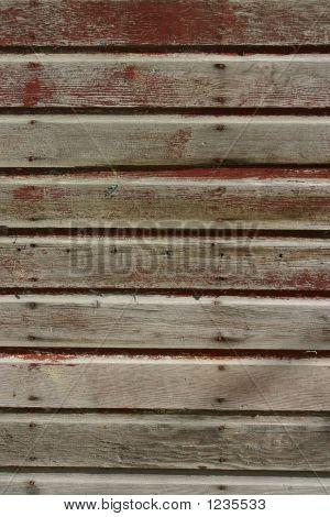 Granero rojo textura usado