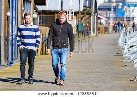 Walking The Promenade