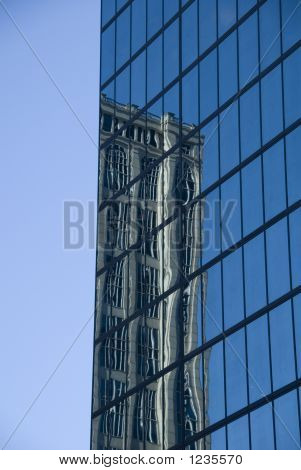 Hancock Tower Reflection
