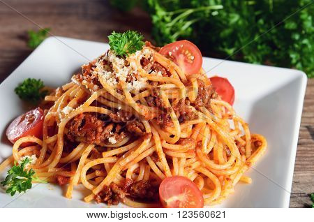 Spaghetti Bolognesei