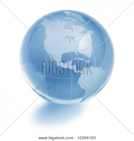 Glas globe