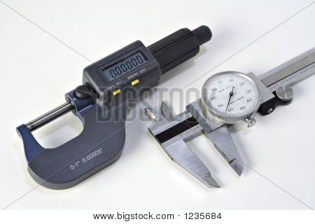 Micrómetro y pinza