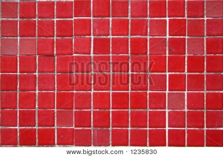 Red Tile Background