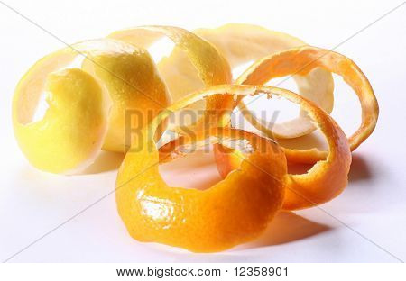 Dried peel