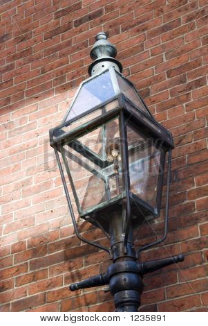 Old Fashioned Gas Lamp