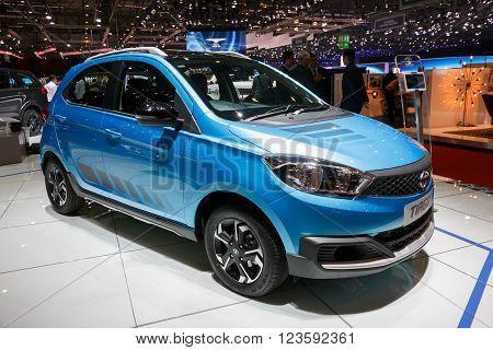 Tata Tiago Showcased