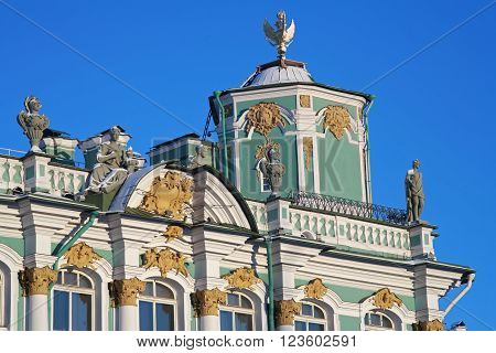 St. Petersburg Winter Palace historical showplace, Hermitage