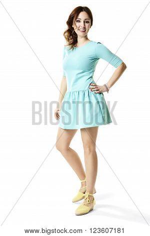 Girl In Sports Dress