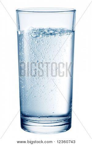 Vaso de agua de mesa.