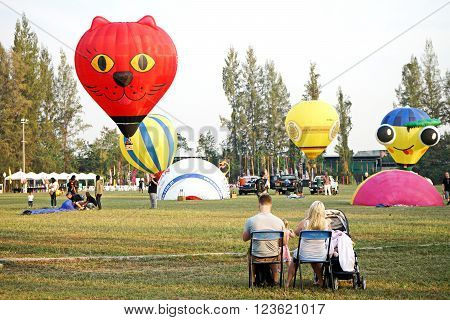Family  Watch Animal Hot Air Balloon