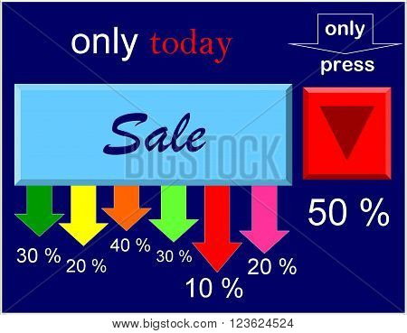 Sale  Beautiful discounts always draw attention. Good purchases will always acquit them.
