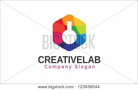 Creative Lab Colorful Art Symbolic Design Illustration