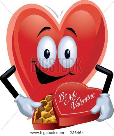 Heart Man With Chocolates