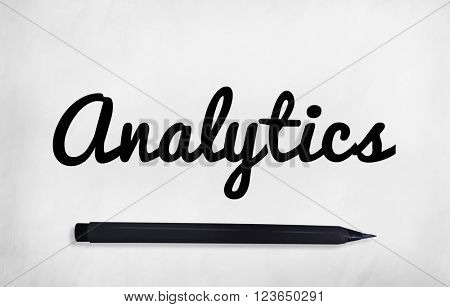 Analytic Analysing Analyze Cursive Concept
