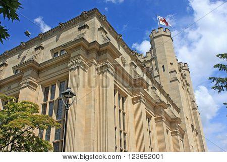 historic building in Bristol University in England