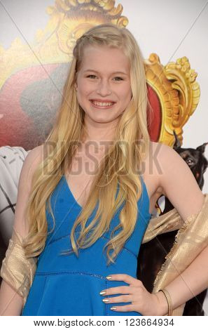 LOS ANGELES - MAR 28:  Eva Peterson at the The Boss World Premeire at the Village Theater on March 28, 2016 in Westwood, CA