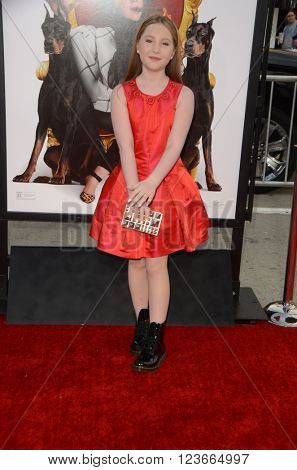 LOS ANGELES - MAR 28:  Ella Anderson at the The Boss World Premeire at the Village Theater on March 28, 2016 in Westwood, CA