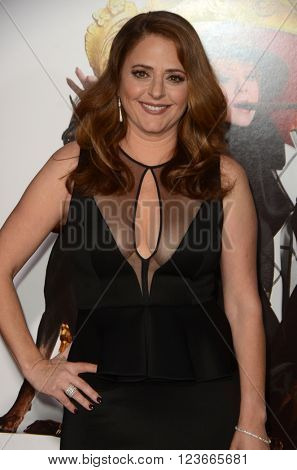 LOS ANGELES - MAR 28:  Annie Mumolo at the The Boss World Premeire at the Village Theater on March 28, 2016 in Westwood, CA
