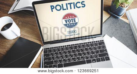 Politics Vote Election Government Party Concept
