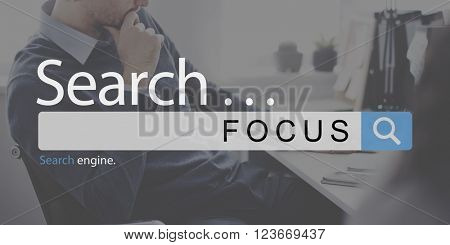 Focus Determine Concentration Focusing Clartiy Concept