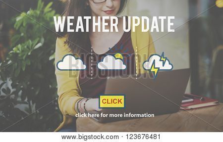 Weather Update Information Prediction Climate Daily Concept