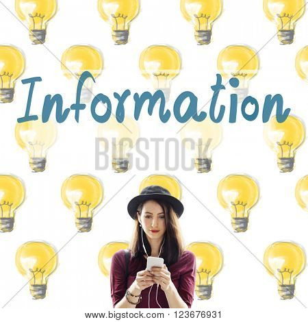 Information Ideas Innovation Thoughts Concept