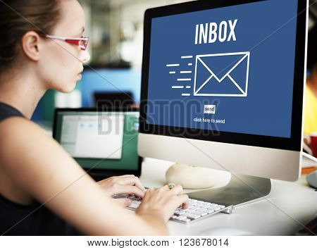 E-mail Correspondence Message Inbox Concept
