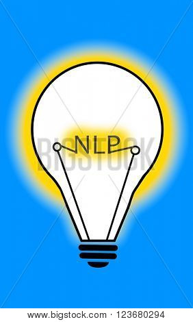 Neuro-Linguistic Programming Light Bulb