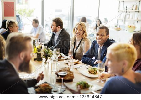 Business Celebrate Cheerful Enjoyment Festive Concept