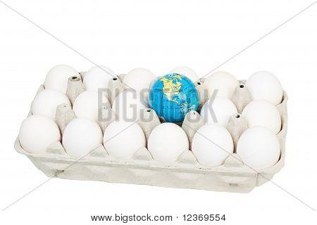 Eggs And Globe