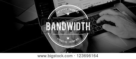 Bandwidth Broadband Computer Network Internet Concept