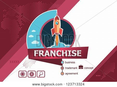 Franchise Design Concepts For Business Analysis, Planning, Consulting, Team Work