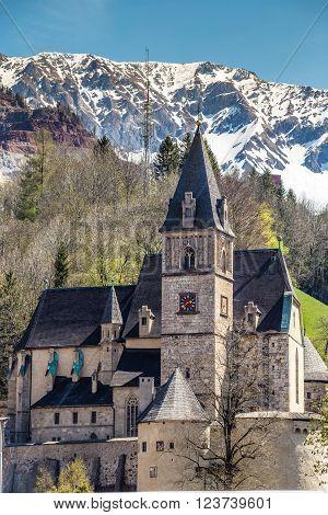 Gothic Parish Church Of Saint Oswald - Eisenerz Styria Austria Europe