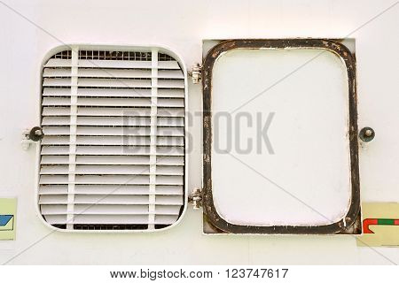 Photo Picture of a Windows Boat Porthole