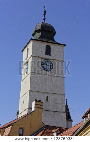 Council Tower Sibiu Romania medieval architecture tower