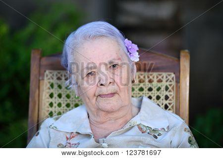 Headshot Of Grandma