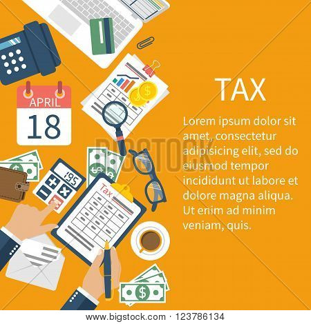 Tax Payment. Government Taxes