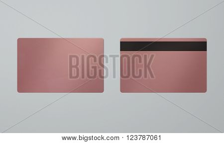 Rose Gold Vip Card