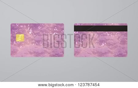 Crystal Card With Ic
