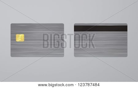 Steel Card Card With Ic