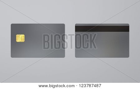 Silver Card With Ic