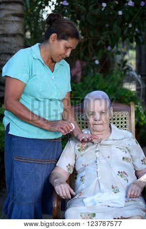 Grandma Take Pill