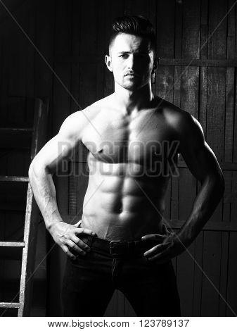 Sexy Muscular Guy